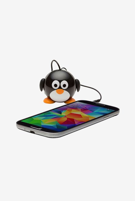 KitSound KSNMBPEN Mini Buddy Penguin Universal Speaker (Black)