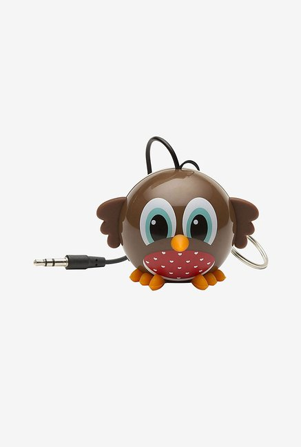 KitSound KSNMBROB Mini Buddy Robin Universal Speaker (Brown)
