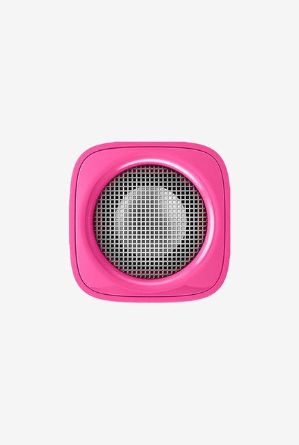 Philips Bt100P/27 Mini Portable Bluetooth Speaker (Pink)
