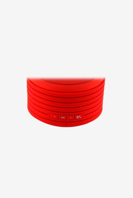 Urge Basics Bluetooth Disc Speaker (with Built-in Mic Red)