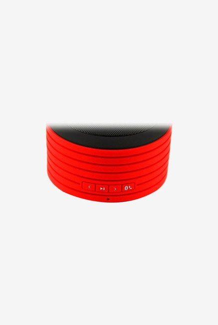 Urge Basics Bluetooth Speaker (with Built-in Mic Red/Black)