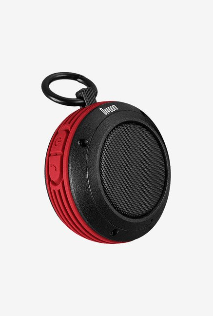 Divoom Voombox-Travel Bluetooth Speaker (Vermillion Red)