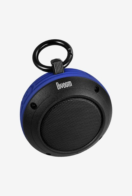 Divoom Voombox-travel Bluetooth Speaker (Blue)