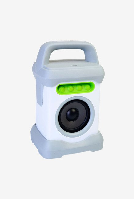 Ivation IVSHSPBTWG Bluetooth Waterproof Speaker White/Green