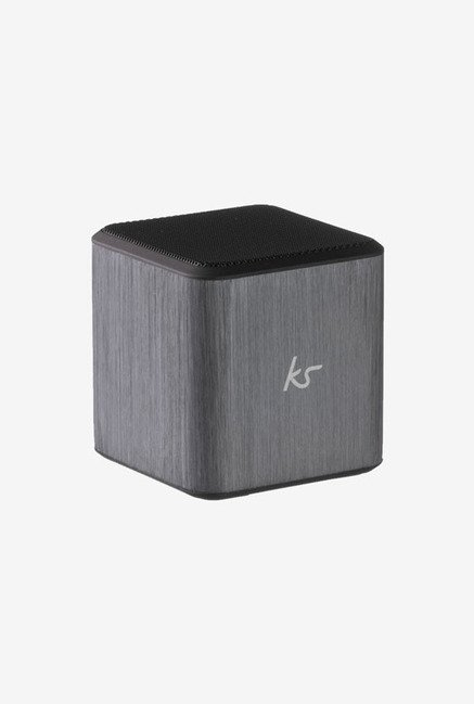 KitSound Cube Universal Portable Speaker (Silver)