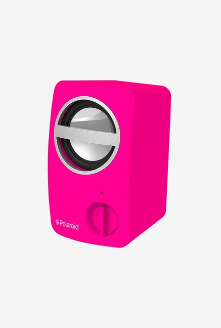 Polaroid PBT501PK Universal Bluetooth Mini Speaker (Pink)