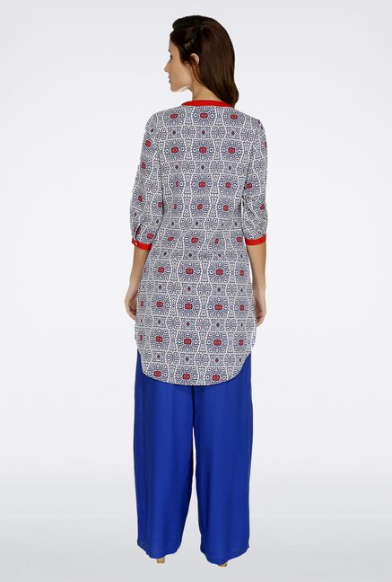 Fusion Beats Multicolor Printed Kurti
