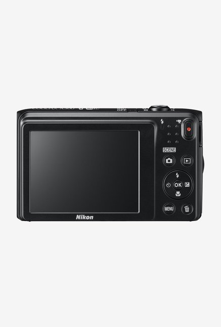 Nikon Coolpix A300 Point & Shoot Camera (Black)