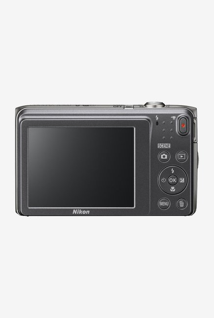 Nikon Coolpix A300 Point & Shoot Camera (Silver)
