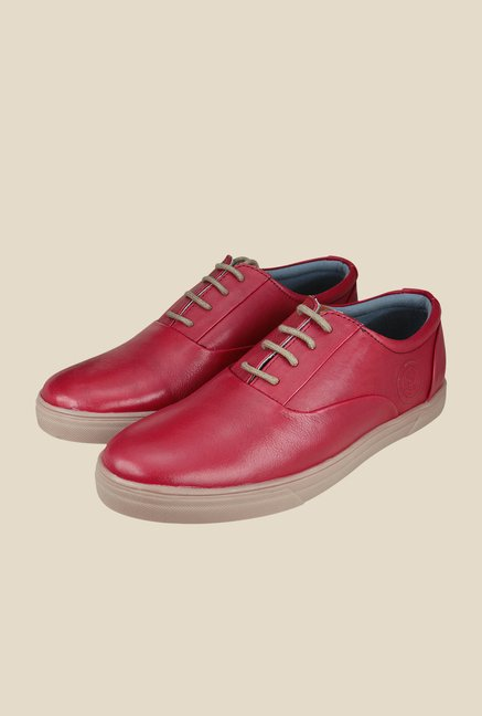 US Polo Assn. Red Casual Shoes