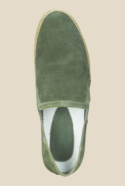 US Polo Assn. Olive Green Plimsolls