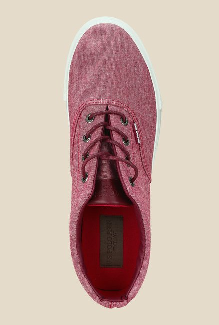US Polo Assn. Light Red Casual Shoes