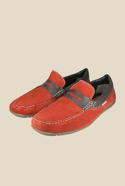 US Polo Assn. Orange Casual Loafers