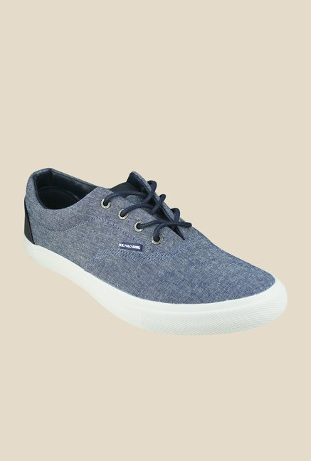 US Polo Assn. Blue Canvas Shoes