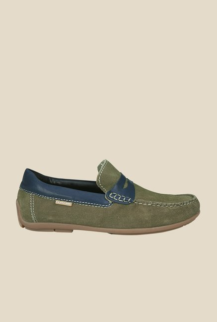 US Polo Assn. Olive Green Loafers