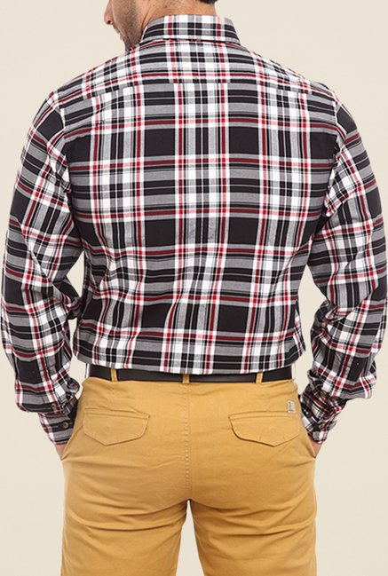 ColorPlus Black Checks Shirt