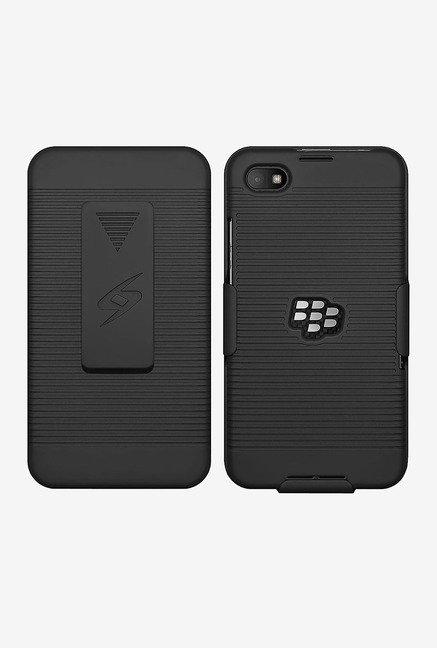 the latest b1520 cb5cb Buy Amzer Shellster Case for BlackBerry Z30 (Black) Online at best ...