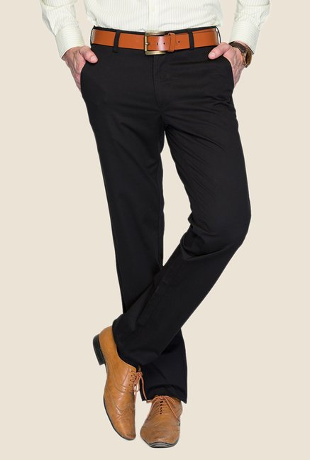 ColorPlus Navy Solid Chinos