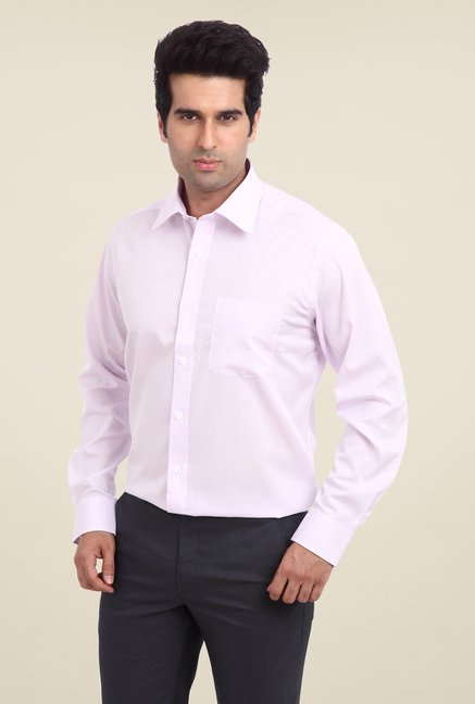 Park Avenue Pink Pin Striped Cotton Shirt