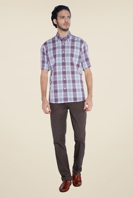 ColorPlus Grey Checks Shirt