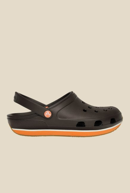 Crocs  Retro Espresso & Pumpkin Clogs