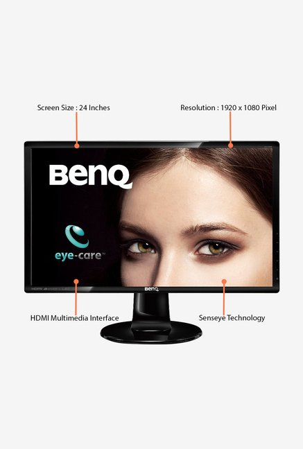 BenQ GL2460HM 24 inch LED Desktop Monitor (Black)