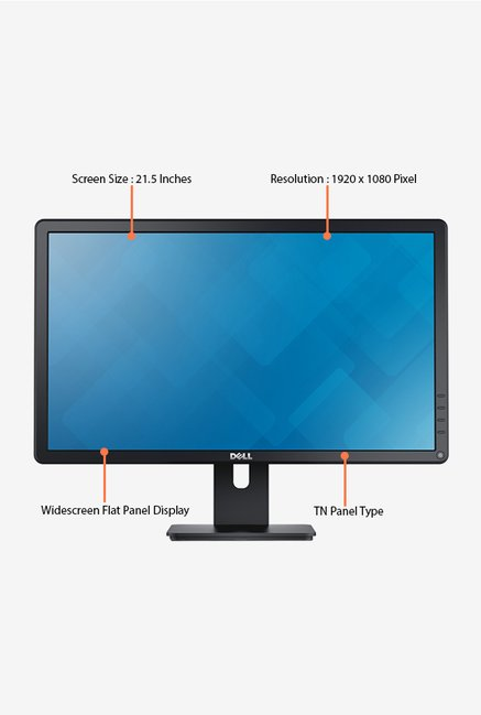 Dell E2216H 21.5 inch LED Desktop Monitor (Black)