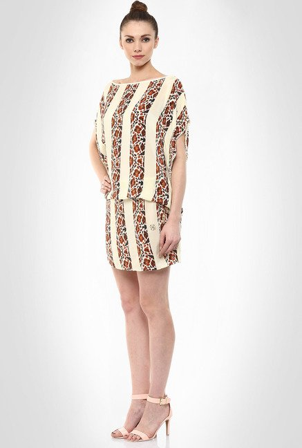 Pria Kataria Puri Designer Wear Short Kaftan Dress By Kimaya