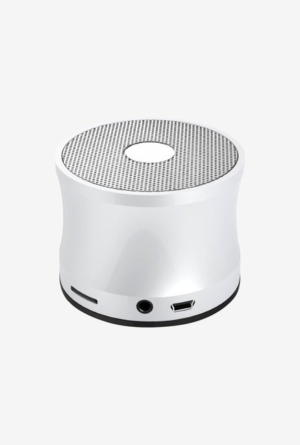 Kinglake KBR-109 Metal Mini Bluetooth Speaker (Silver)