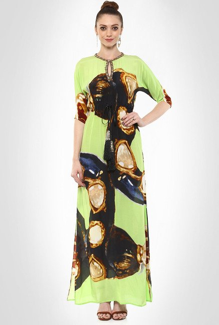 Pria Kataria Puri Designer Wear Multi-hued Dress By Kimaya