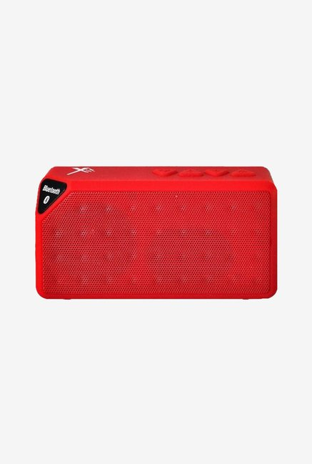 Xit AXTRECR Rectangular Bluetooth Speaker (Red)