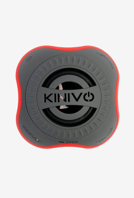 Kinivo ZX100 Mini Portable Wireless Speaker (Orange & Grey)