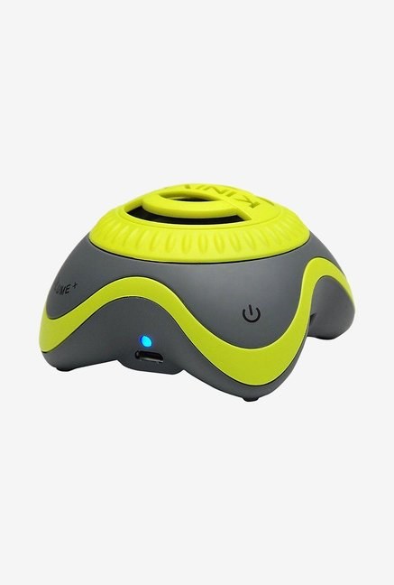 Kinivo ZX100 Mini Portable Wireless Speaker (Yellow & Grey)