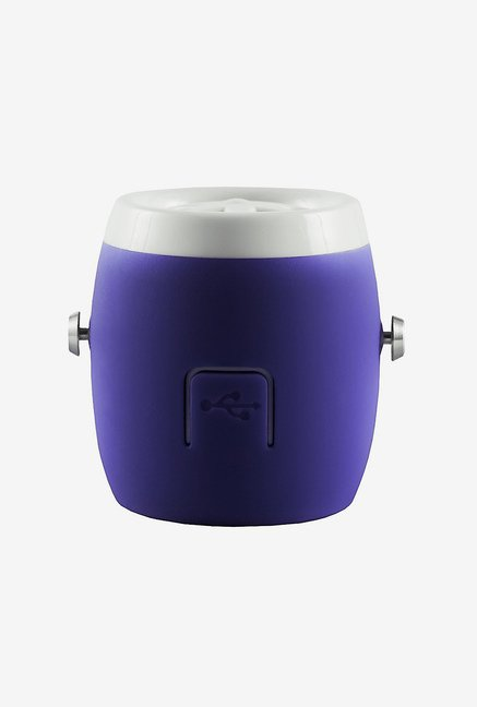 Life N Soul BM101 Water Resistant Bluetooth Speaker (Purple)