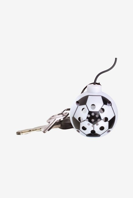 Perfect Life Ideas Sports Ball Shaped Speaker (White)