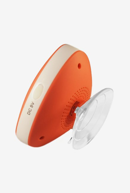 Vl Tech Triangle Mini Bluetooth Shower Speaker (Orange)