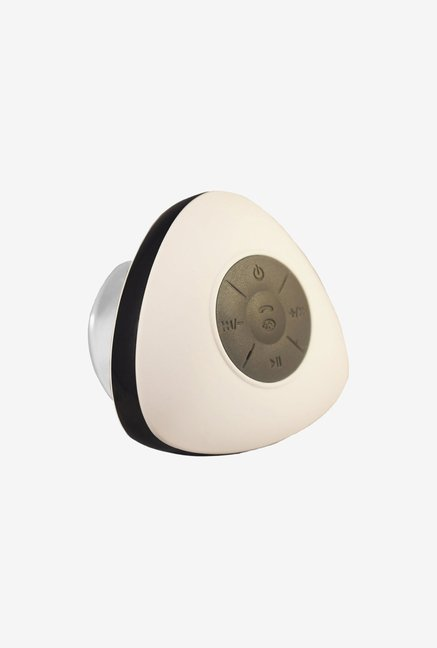 Vl Tech Triangle Mini Bluetooth Shower Speaker (White)