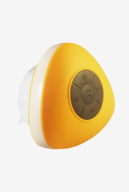 Vl Tech Triangle Mini Bluetooth Shower Speaker (Yellow)