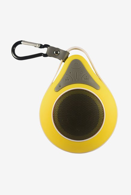 Vl Tech VLSPKYW2 Bluetooth Shower Speaker (Yellow)