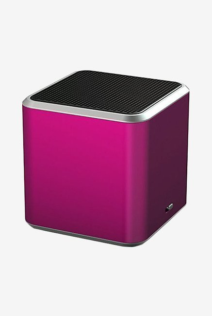 White Label Jamcube Portable Bluetooth Speaker (Pink)
