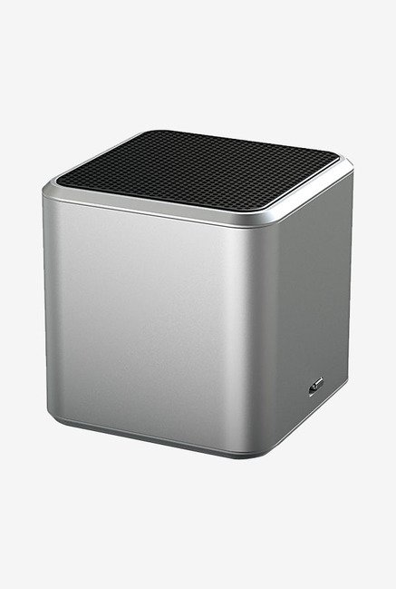 White Label Jamcube Portable Bluetooth Speaker (Silver)