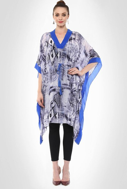Rinku Dalmal Designer Wear Animal Print Tunic By Kimaya