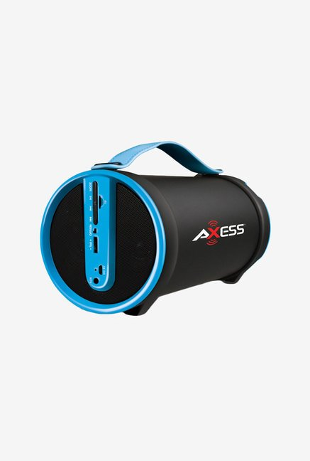 Axess SPBT1033 Bluetooth Hi-Fi Cylinder Loud Speaker (Blue)