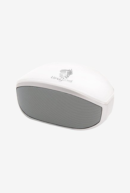 Life N Soul BM208-W Bluetooth Stereo Speaker (White)