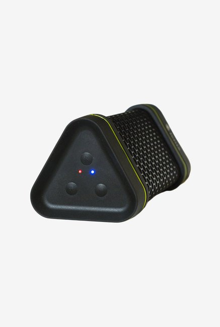Fenix Triangle Shaped Portable Bluetooth Speaker (Black)
