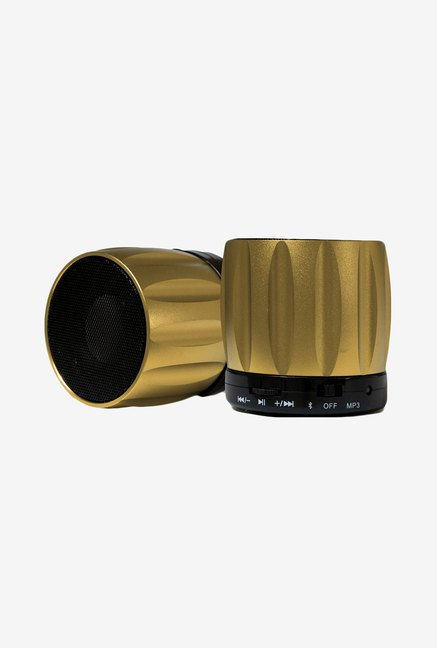 Fenix Ultra-Portable Bluetooth Speaker (Gold)