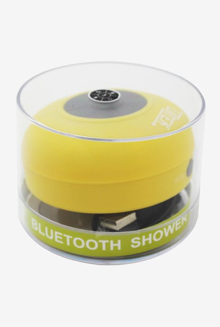 liztek JSS-100 HD Bluetooth Shower Speaker (Yellow)