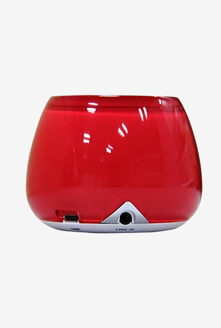 Lugulake Crystal Shaped Bluetooth Speaker (Acrylic Red)