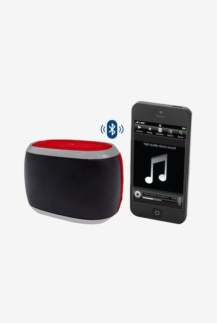 Hype Mini Capsule Bluetooth Speaker (Red)