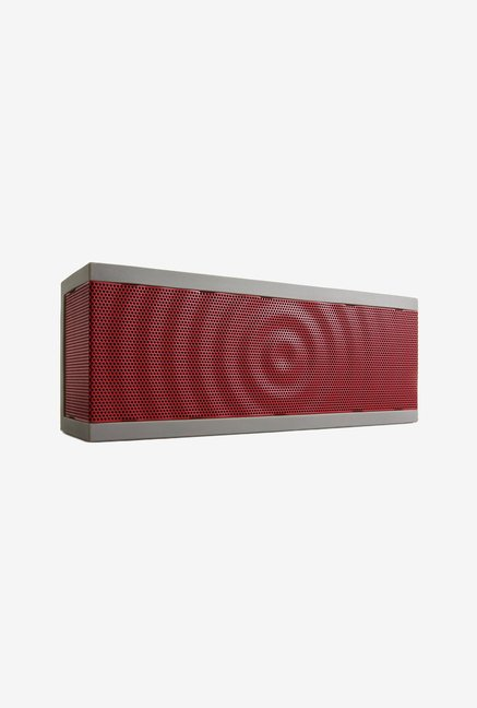 Bohm SoundBlock Bluetooth Wireless Stereo Speaker Grey & Red
